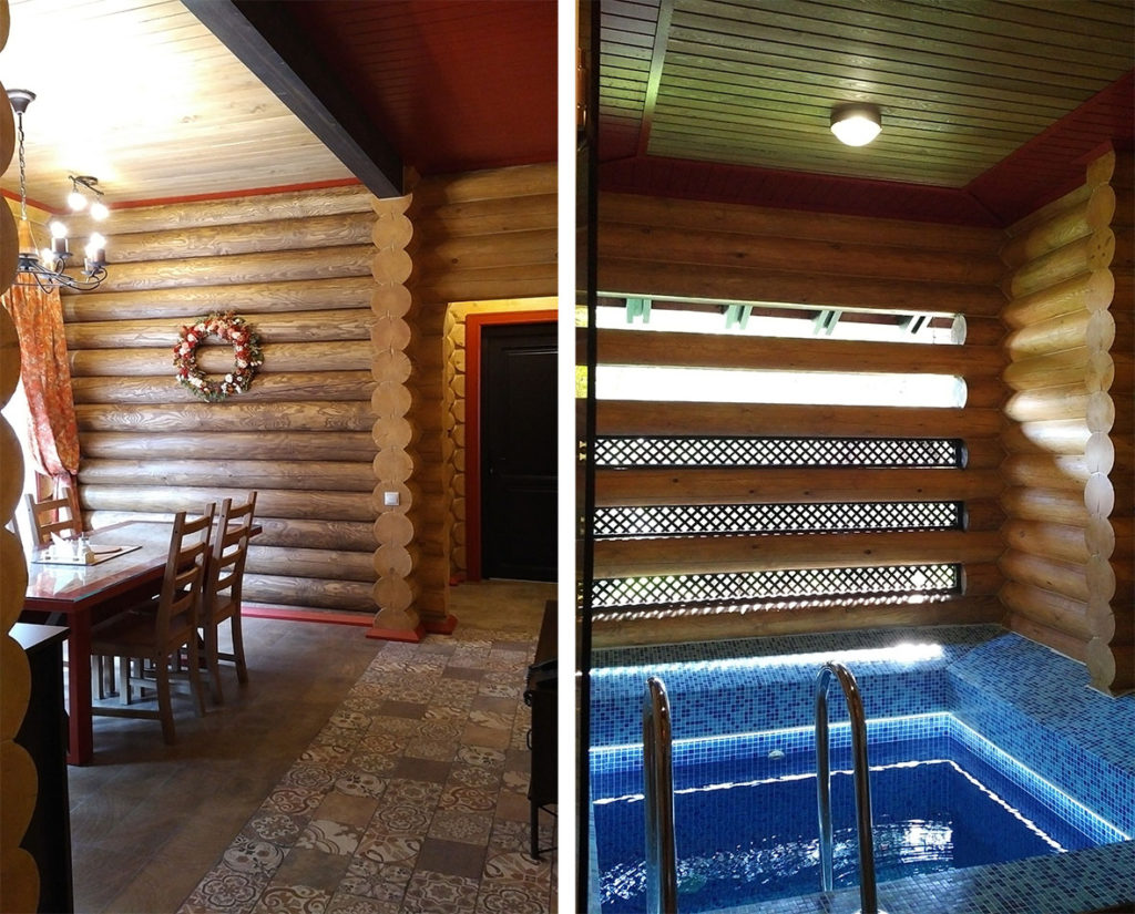 Обустройство бассейна или купели в бане