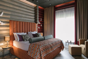 Дизайн интерьера в деревянном доме