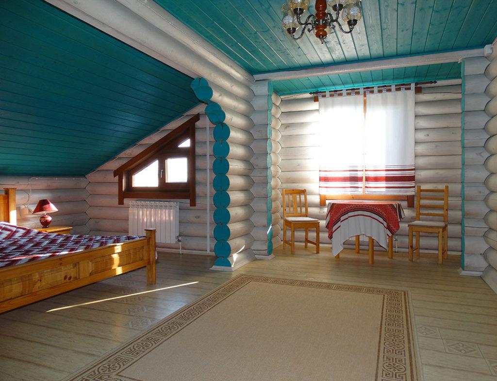 Дизайн интерьера бани в украинском стиле