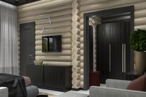 Дизайн проект отеля «Пархаус»
