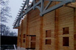 Дом из бруса (строительство)