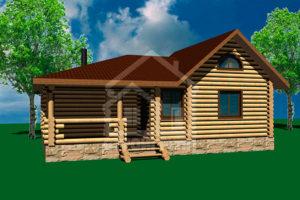 Бани деревянные и банные комплексы из сруба