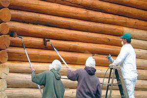 Как защитить деревянный дом из сруба