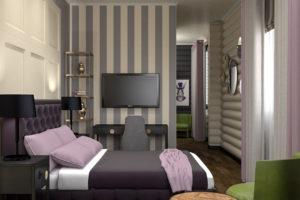 Розовая спальня в Гольфклубе