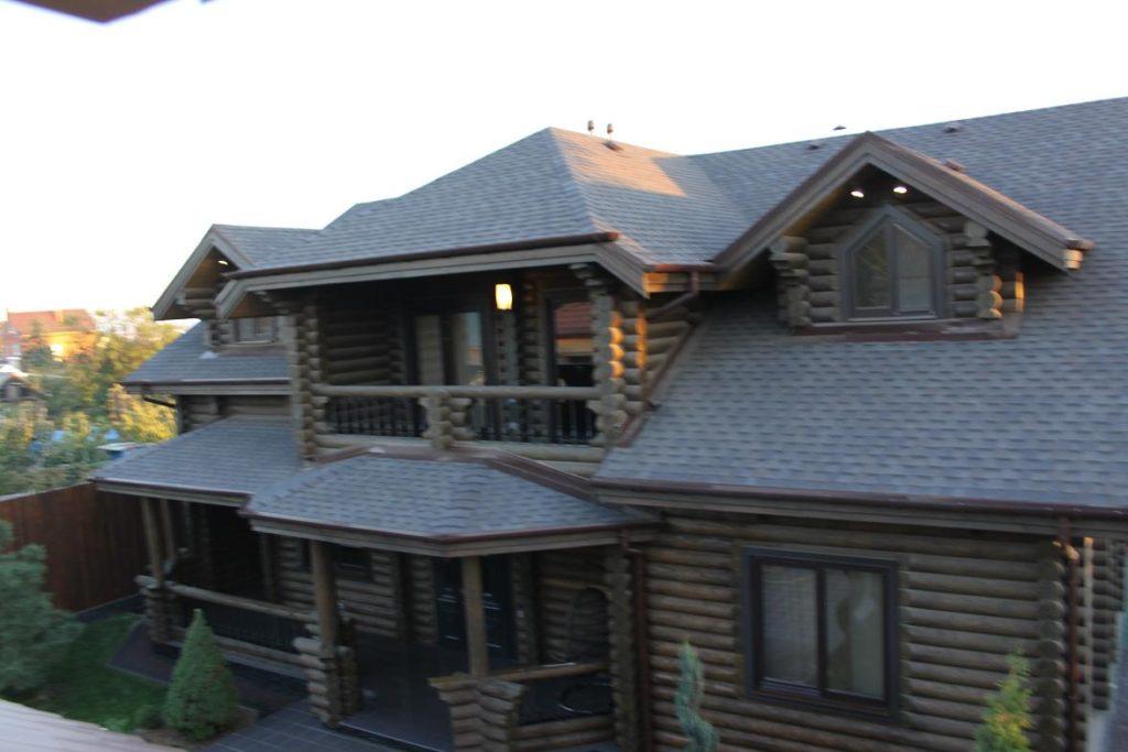 Фото жилого дома из сруба