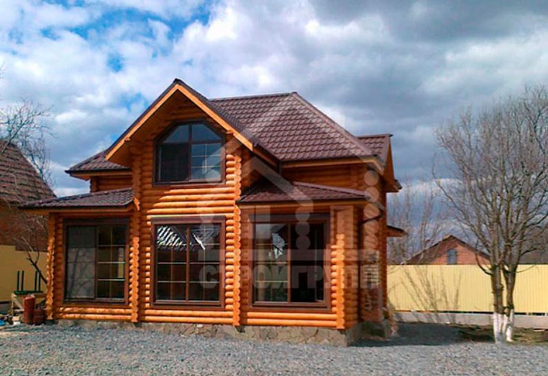 Деревянные евро окна в домах из сруба в Ростове