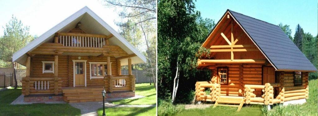 Строительство деревянных домов из сруба в Ростове-на-Дону, проекты домов