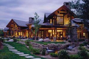 Примеры красивых домов из бруса