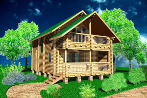 Деревянные гостиницы из сруба и бруса