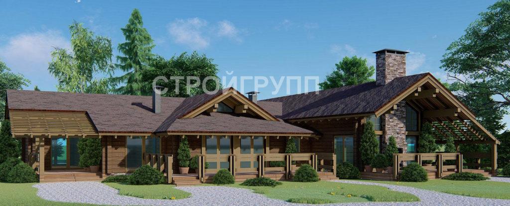 Дома и коттеджи из клеенного бруса в Ростове на заказ