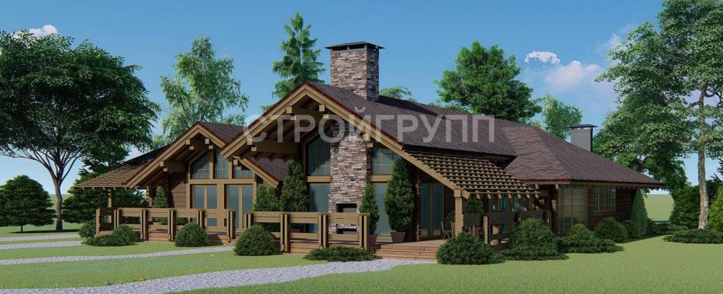 Строительство домов из бруса под ключ в Ростове, Коаснодаре, Юге России