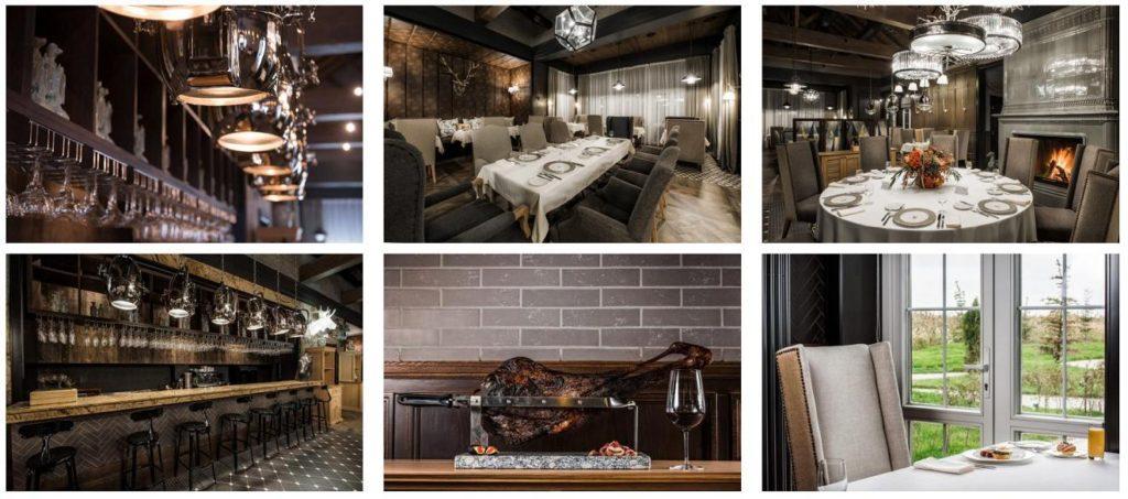 Ресторан и бар Уткино из сруба