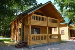 Строительство деревянных домов для баз отдыха