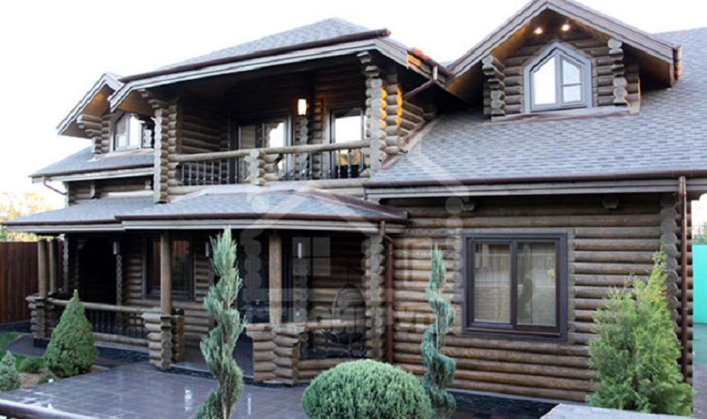 Элитный деревянный рубленный дом