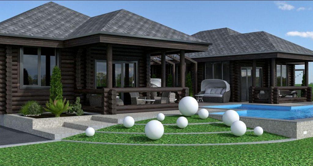 гольф-гостиница-сруб