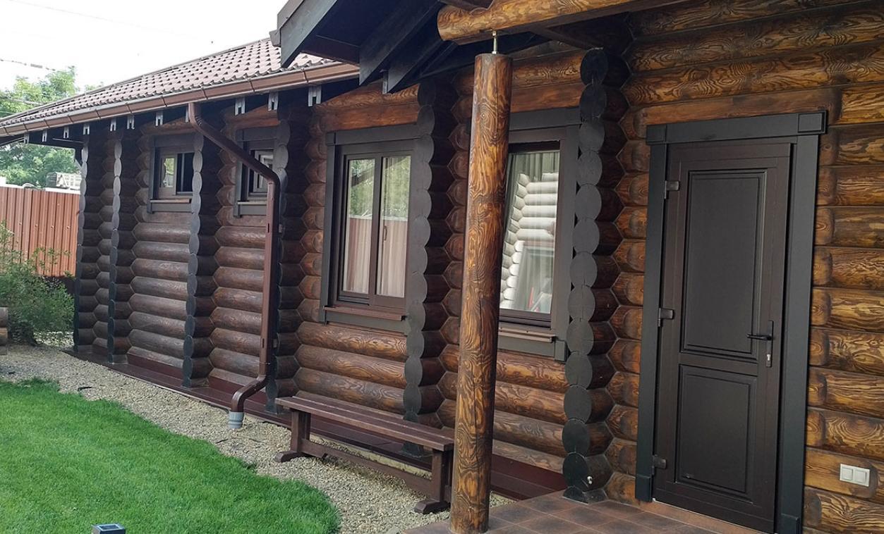 Дома из бруса в Краснодаре, строительство дома под ключ из бруса в ... | 758x1253