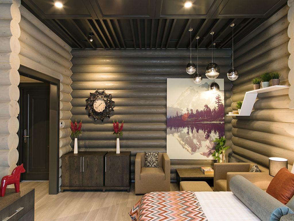 Мебель из дерева для номеров гостиницы