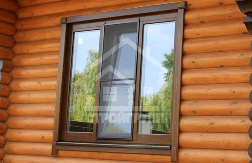 Конструкция современного деревянного евро окна
