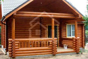 Проекты деревянных домов из сруба площадью 30, 40, 50 метров