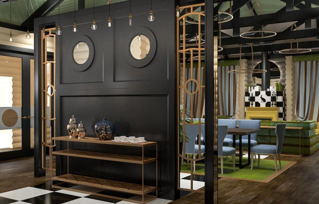 Декоративные панели из дерева современном интерьере