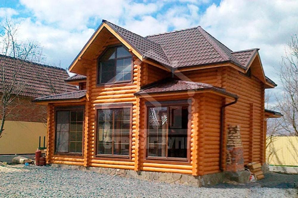 построить дачный дом в деревенском стиле
