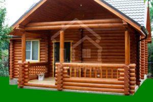 Деревянные дома из сруба для дачи