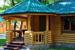 Строительство деревянных беседок на Юге России