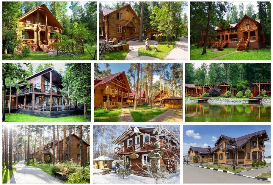 Деревянные гостиницы в Москве и Московской области фото 002