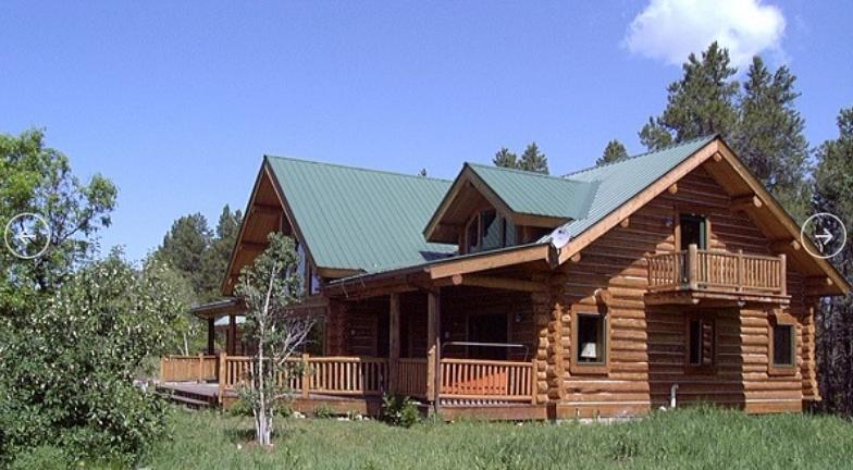 Американские проекты деревянных домов из бревна