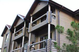 Деревянные гостиницы из сруба и бруса на 15 — 20 номеров