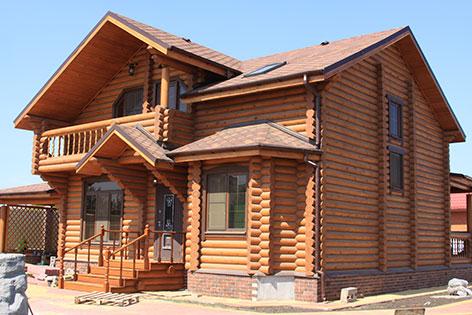 Строительство домов из сруба, заказ домов по выгодной цене
