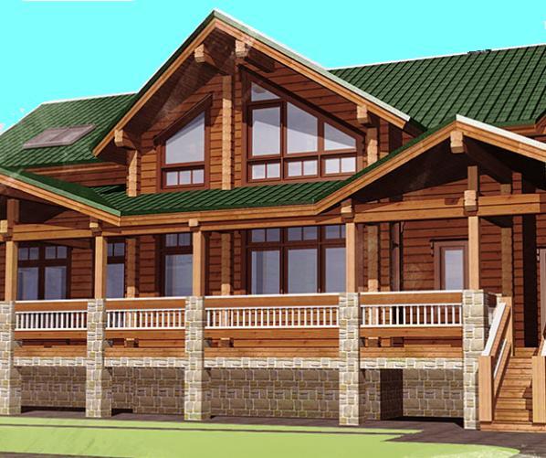 Производство деревянных домов из бруса