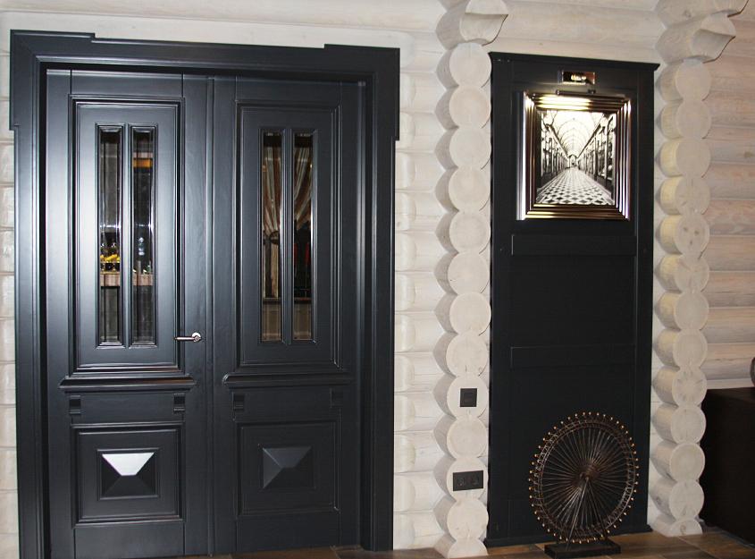 Деревянные двери от Стройгрупп фото 4