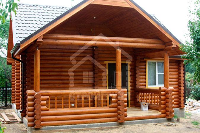 Услуги по строительству деревянных домов из сруба