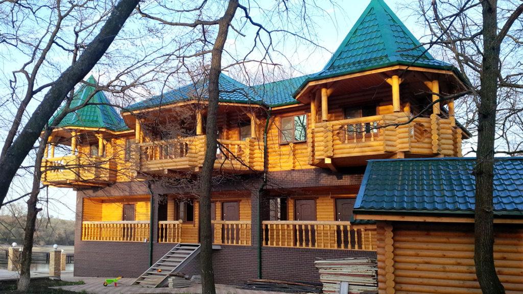 Сказочный дом из бревна под ключ, фото 2