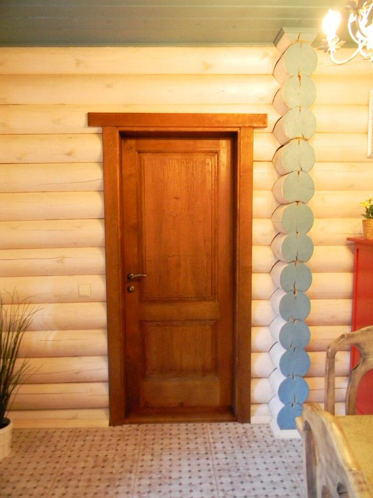 Деревянные двери из сосны под окраску в Ростове