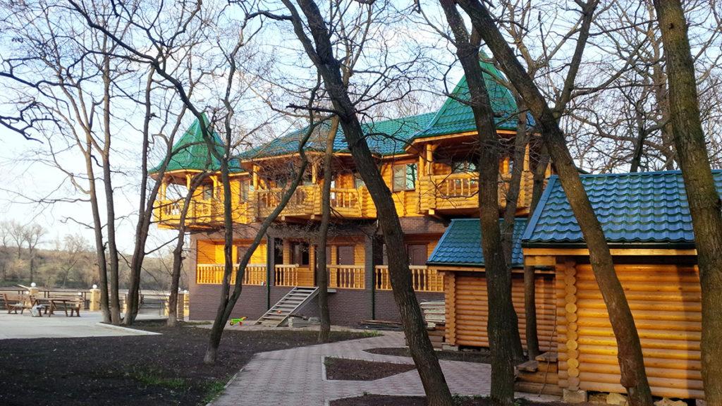 Сказочный дом из бревна под ключ, фото 1