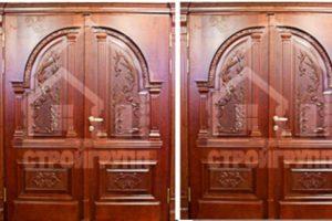 Деревянные двери цена