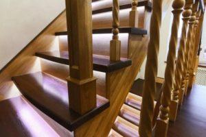 Производство деревянных лестниц