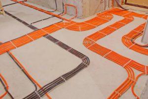 Прокладка внутренних инженерных сетей