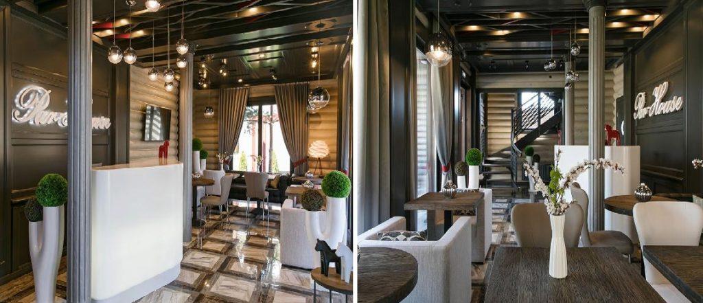 деревянные ресторон фото 2