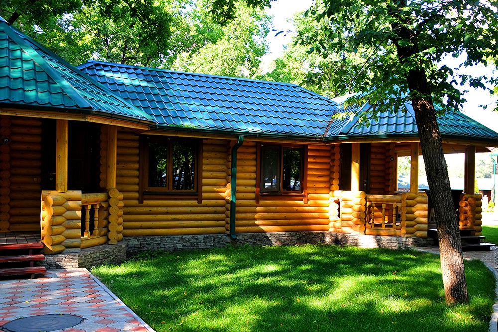 Деревянные дома для баз отдыха и пансионатов