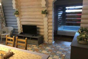 Проекты деревянных бревенчатых банных комплексов