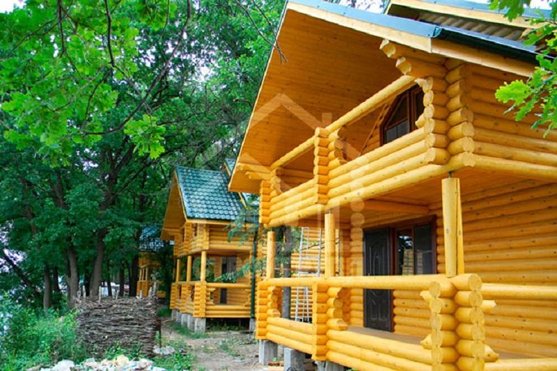 гостевой дом из сруба в Ростове