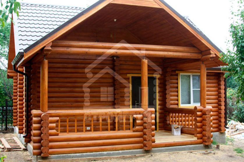 Дачный домик из сруба в Ростове