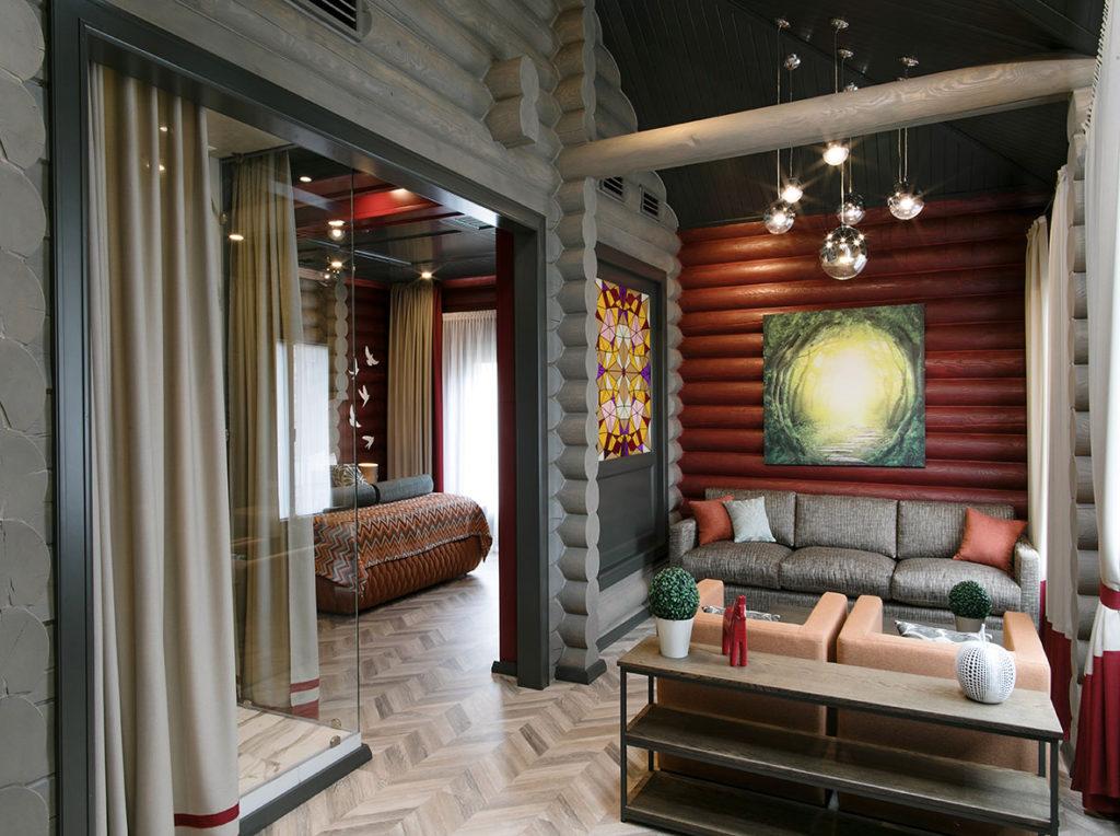 деревянная мебель гостиницы