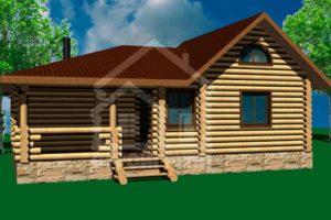 Деревянные домики для дачи из сруба и бруса