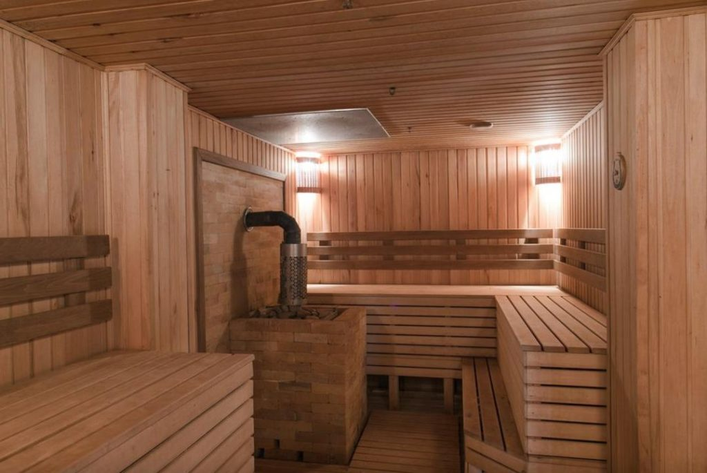 проект деревянной сауны