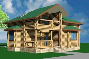 Строительство деревянных домов, проекты и цены