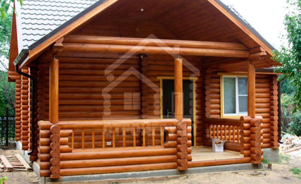Деревянный дом площадью от 50 метров из бревна